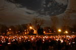 candlelight vigil in Denver