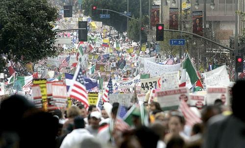 LA demonstrators