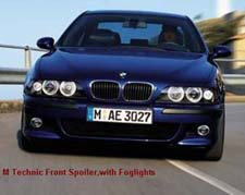 example of good foglights on a BMW M5